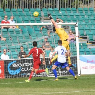 Glover Outstanding as 10 man Heath hold out for a Point