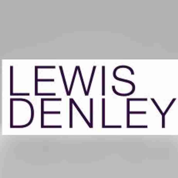 Lewis Denley Solicitors to sponsor the club