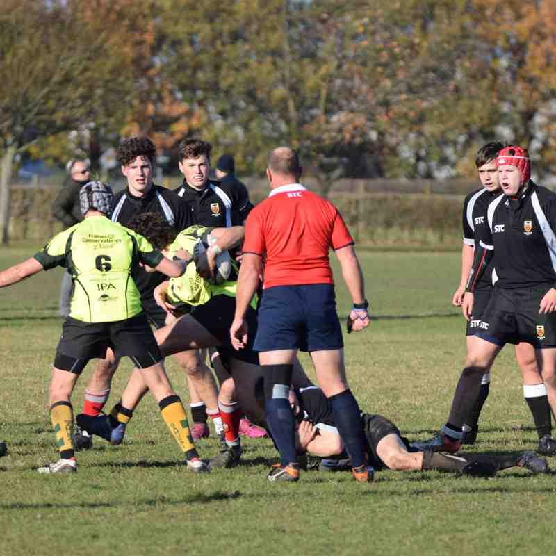 Bury U16 vs Colchester