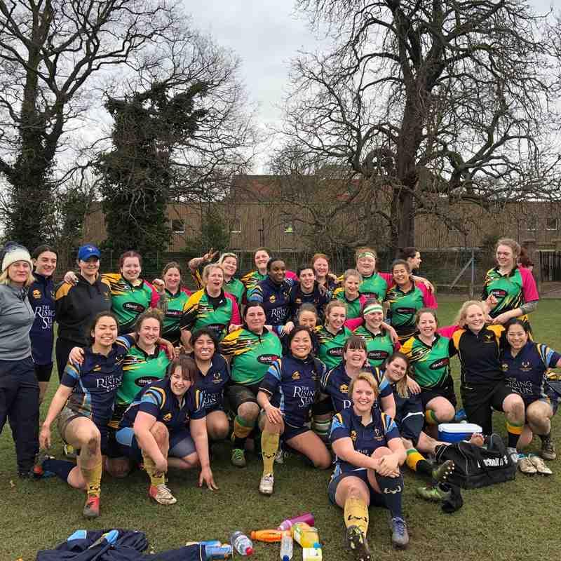 Teddington Vs Bracknell Ladies 11/03/2018