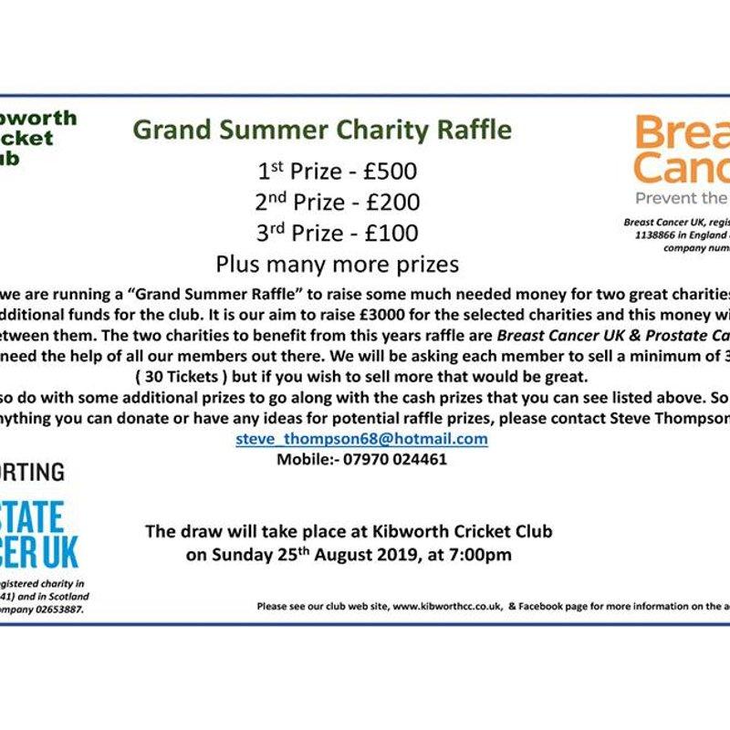 Grand Summer Charity Raffle