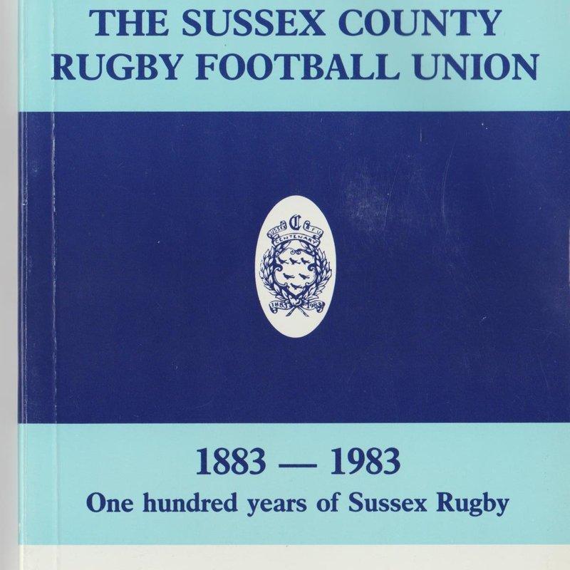 Sussex RFU centenary booklet