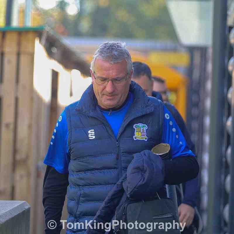 vs Maidstone United - 28/10/2018 - Club photos - Solihull