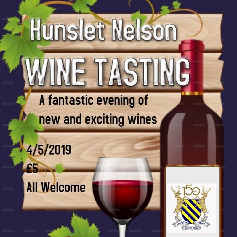HNCC Wine tasting evening