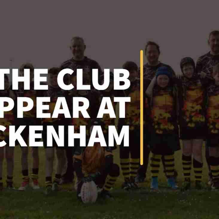 ERFC's Under 12s to Play at Twickenham