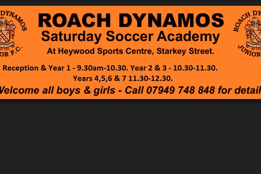 Roach Saturday Soccer Academy