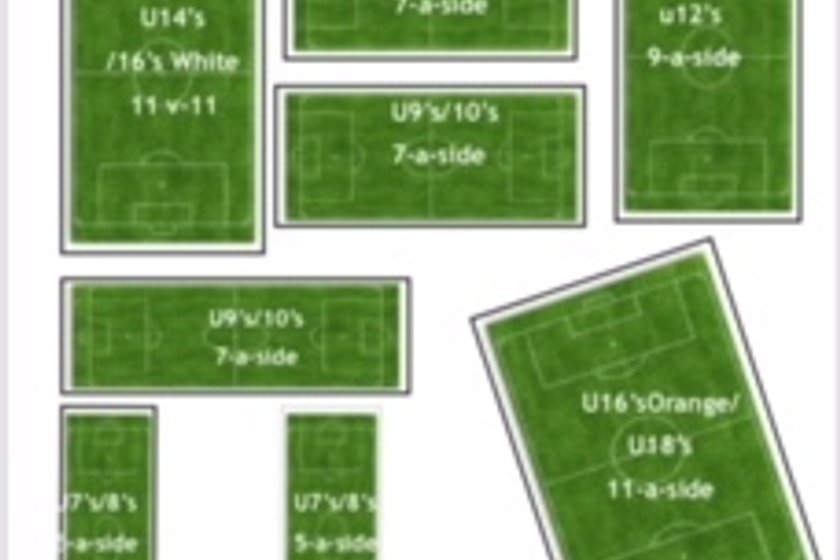 Roach Dynamos JFC Pitch Layout 2018/19