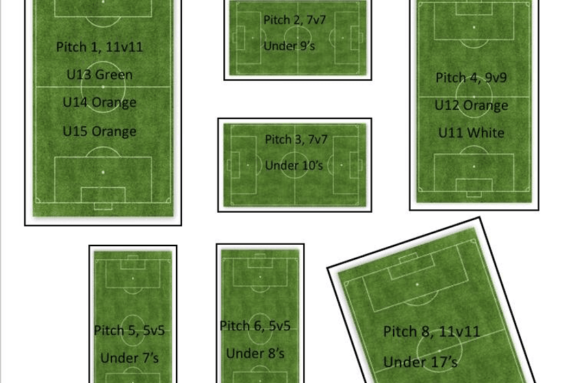 Roach Dynamos JFC Pitch Layout 2019/20