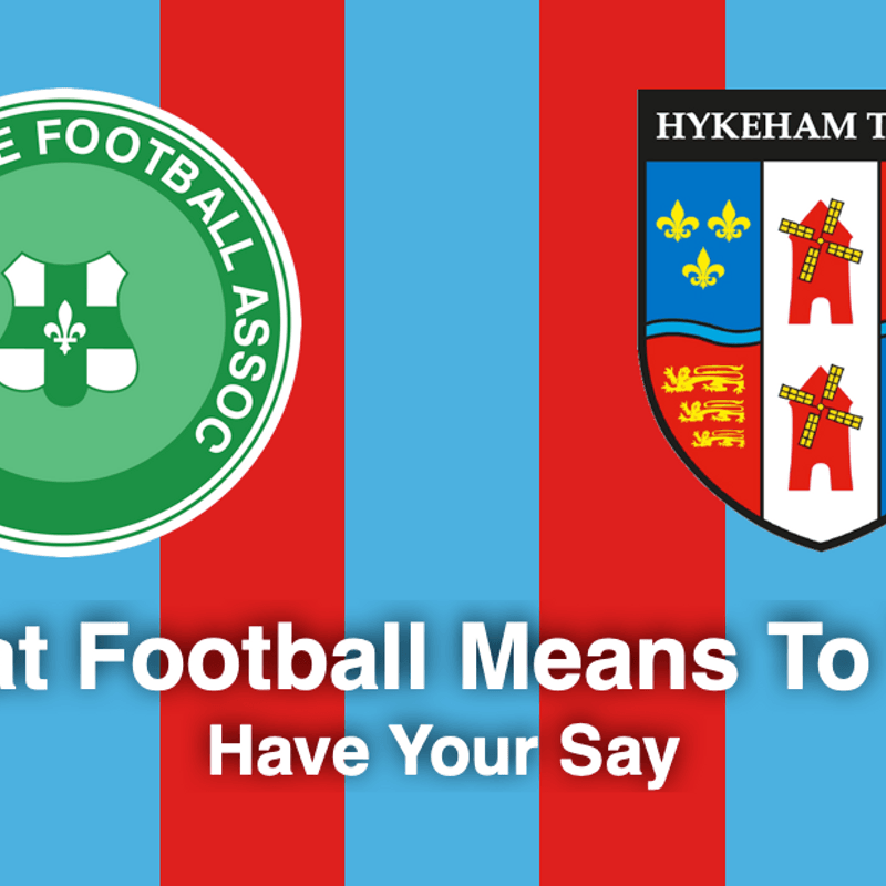 'WHAT FOOTBALL MEANS TO YOU' SURVEY