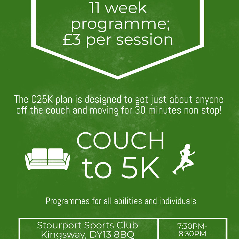 Couch to 5K course