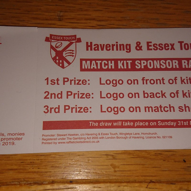 Havering & Essex Touch fundraising
