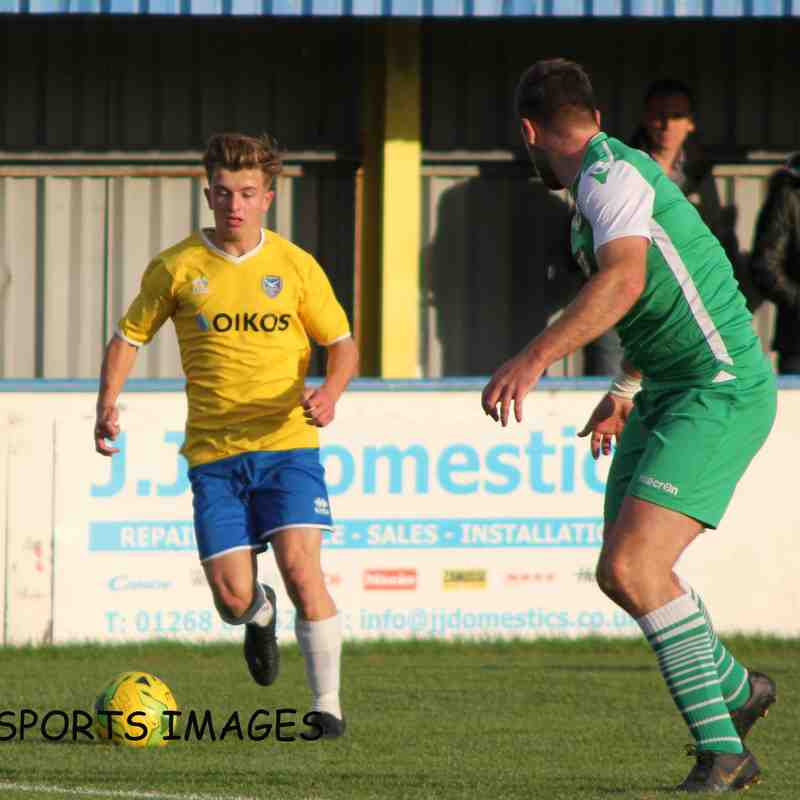 Canvey Island Vs Basildon United 19/10/2019