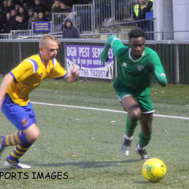 AFC Sudbury Vs Canvey Island 02/11/2019