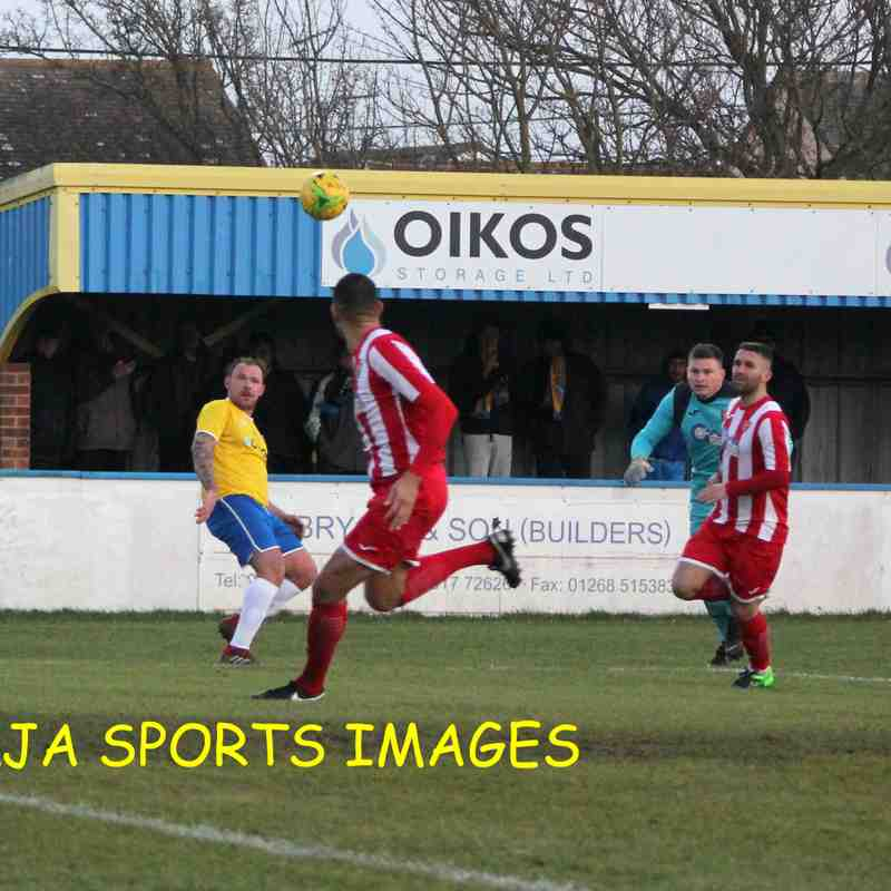 Canvey Island Vs Felixstowe & Walton United 14/12/19