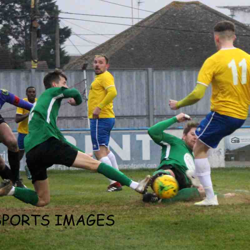 Canvey Island Vs Soham Town Rangers 25/01/2020