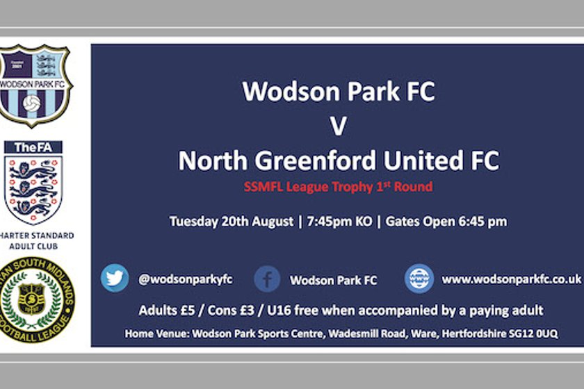 Download Programme for North Greenford Utd Match