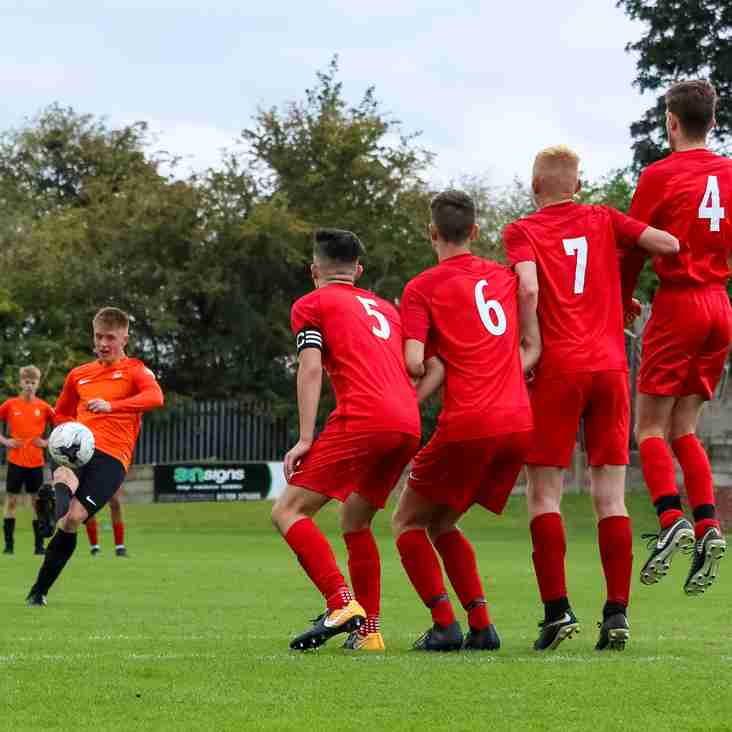 Young Steelmen in league action this Sunday