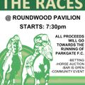 RACE NIGHT ON 30TH MARCH AT ROUNDWOOD!