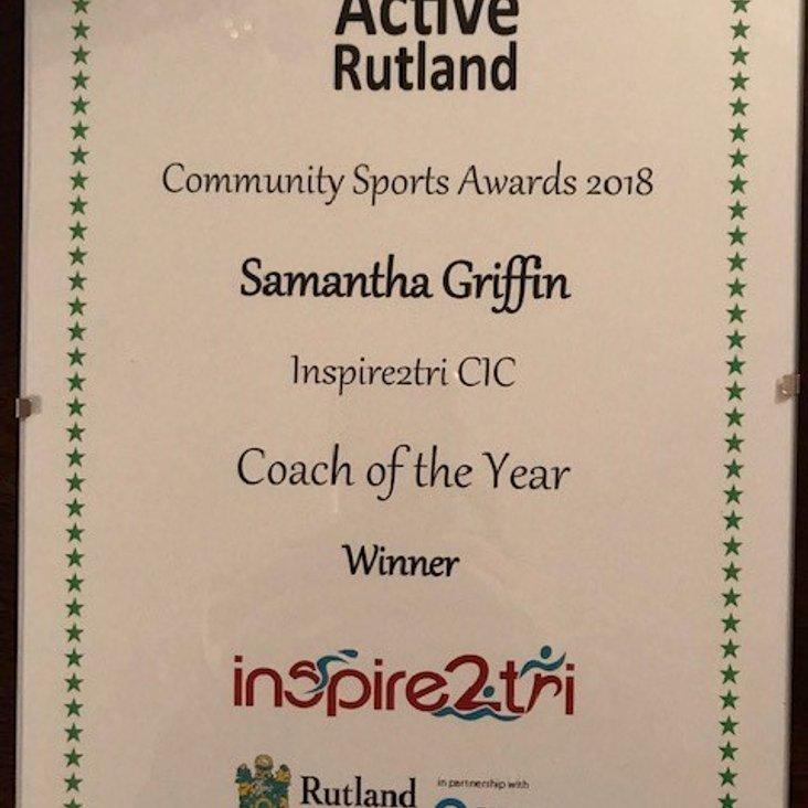 Head Coach Award<