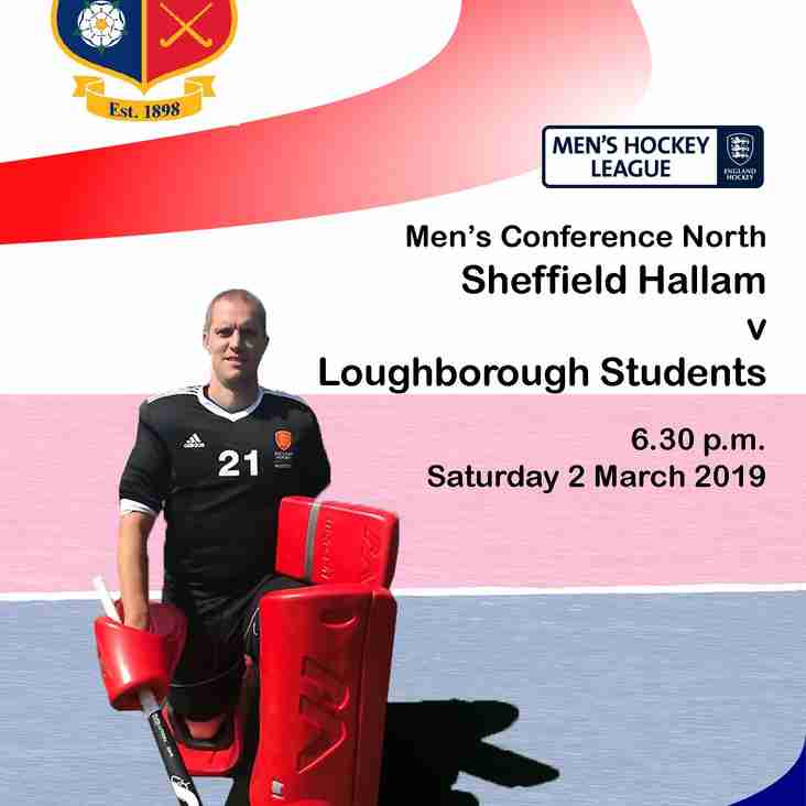 Saturday 2 March: M1 v Loughborough Students