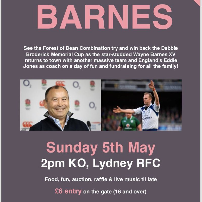 Wayne Barnes Charity Day Info