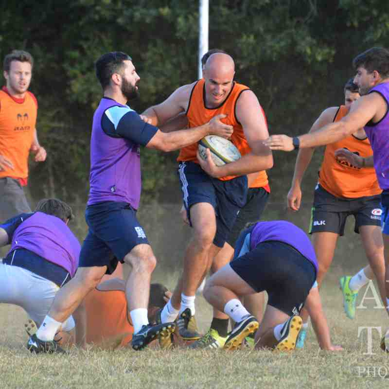 First XV & Blues Training July 2018