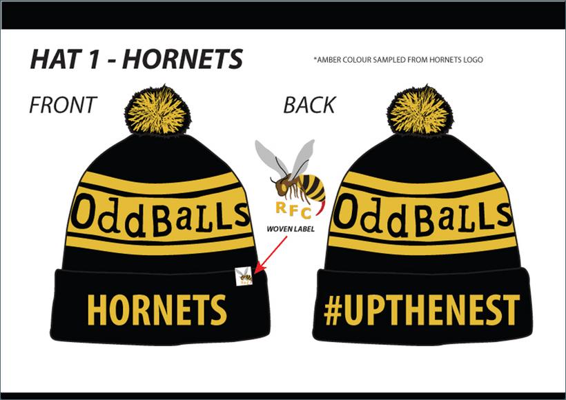 e5ff543fff0 Only a few Oddballs Bobble Hats left - News - Hornets RFC Ltd