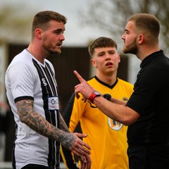 ⚽️ Retford United FC 2 - 1 Staveley Miners Welfare Reserves ⚽️ 02.03.2019. Action from the Central Midlands North League match at Cannon Park, Retford, England. (C) Jon Knight
