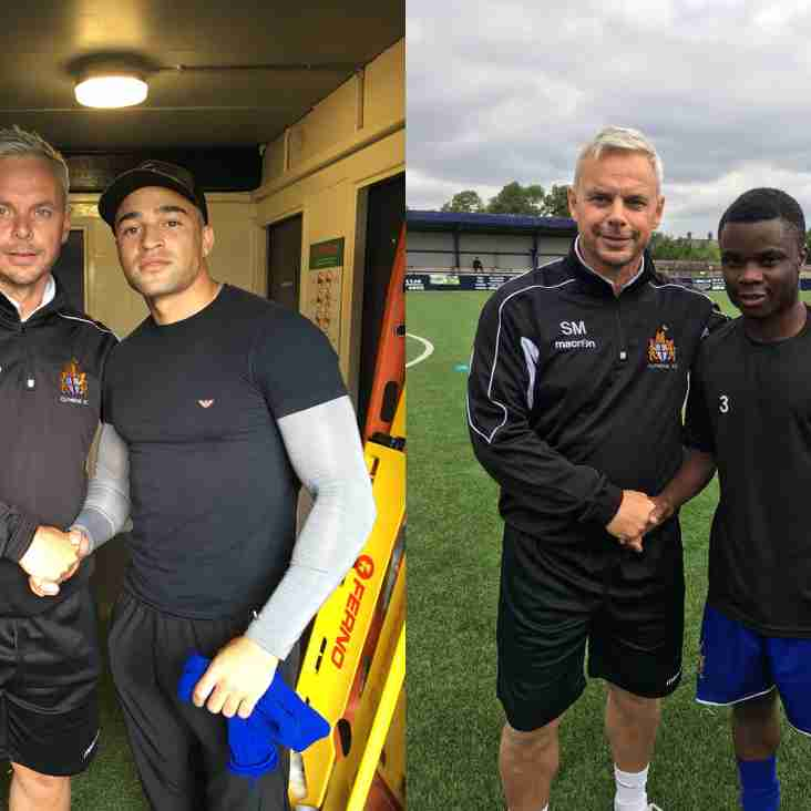 Another two new faces arrive at Shawbridge