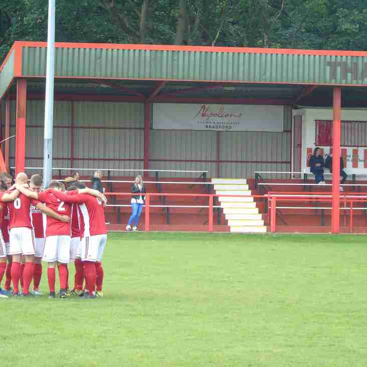 Thackley AFC ground sponsorship available