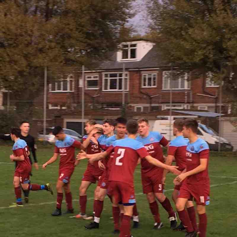 Pickwick Youth v Hamworthy Utd 4.11.18