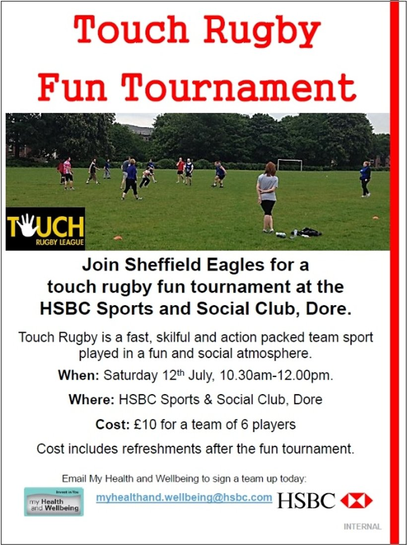 Anyone up for entering a Touch-Rugby Tournament ? - News