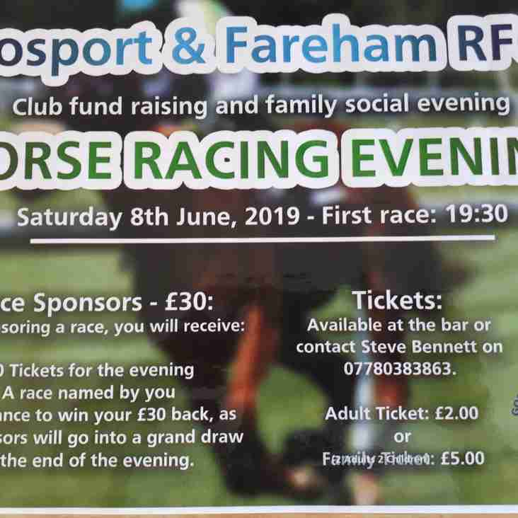 HORSE RACE NIGHT AT THE CLUB
