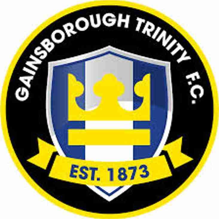 Captain is Hotte for Gainsborough
