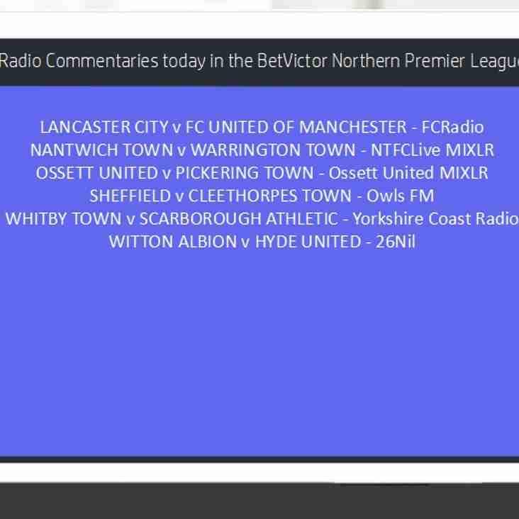 Radio Commentaries this evening