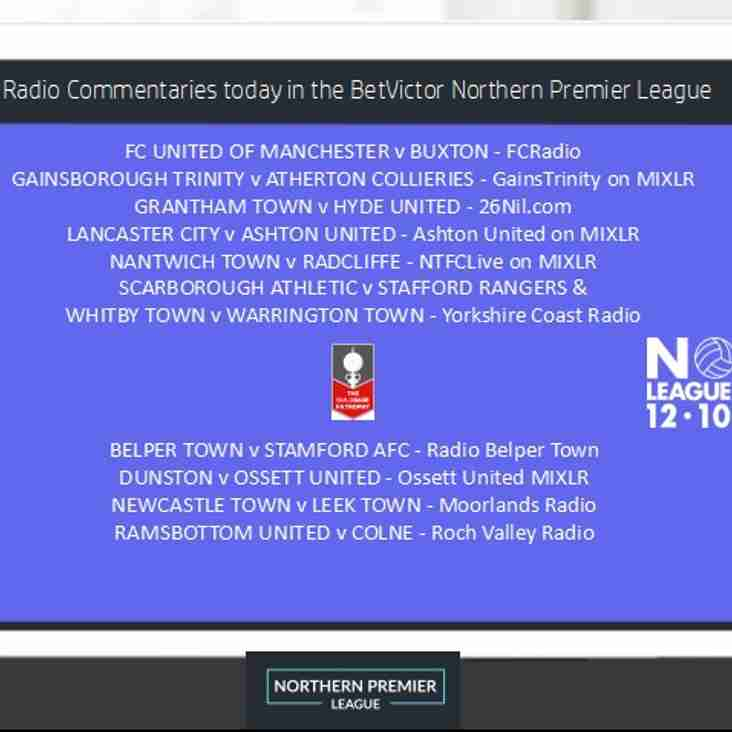Non League Day Radio Commentaries