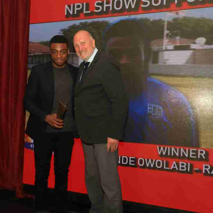 The NPL Show Supporters Player Awards