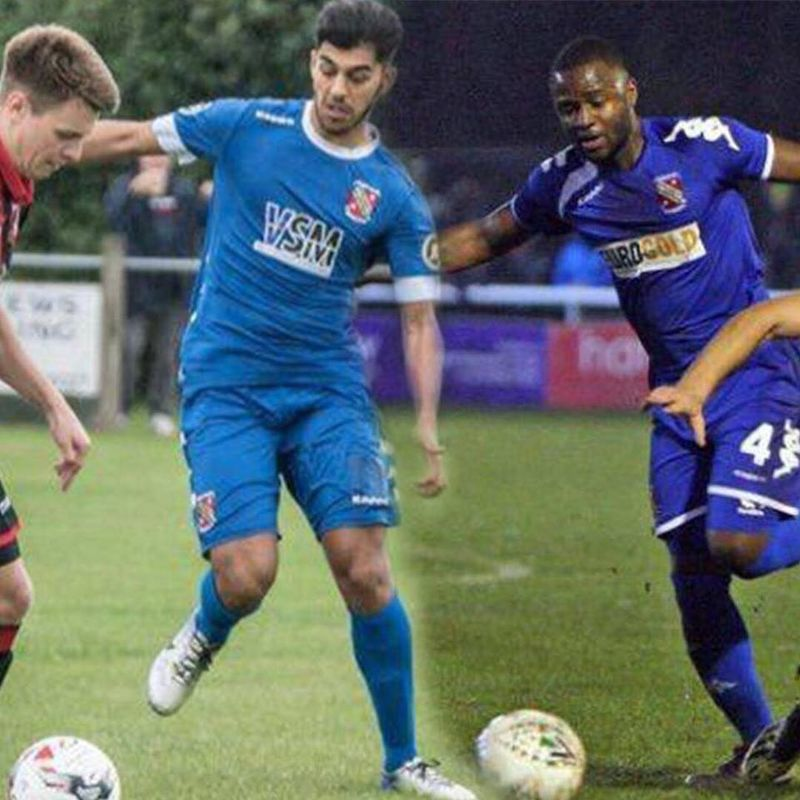 Llandudno sign Bangor City duo Yalany Baio and Sameron Dool