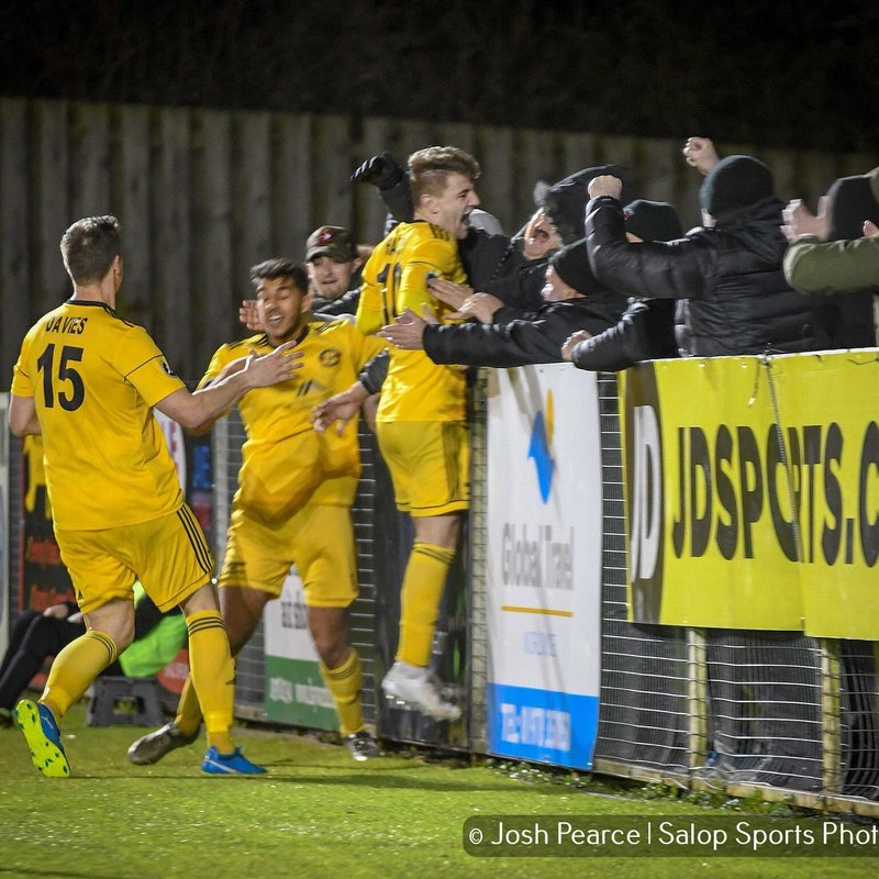 Llandudno come from behind twice to grab point against Druids