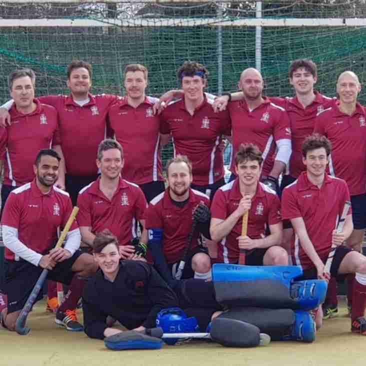 Mens 2s report for 2018/2019 season