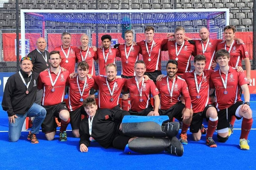 Chairman's message to the Mens 2s for reaching the final at Lee Valley