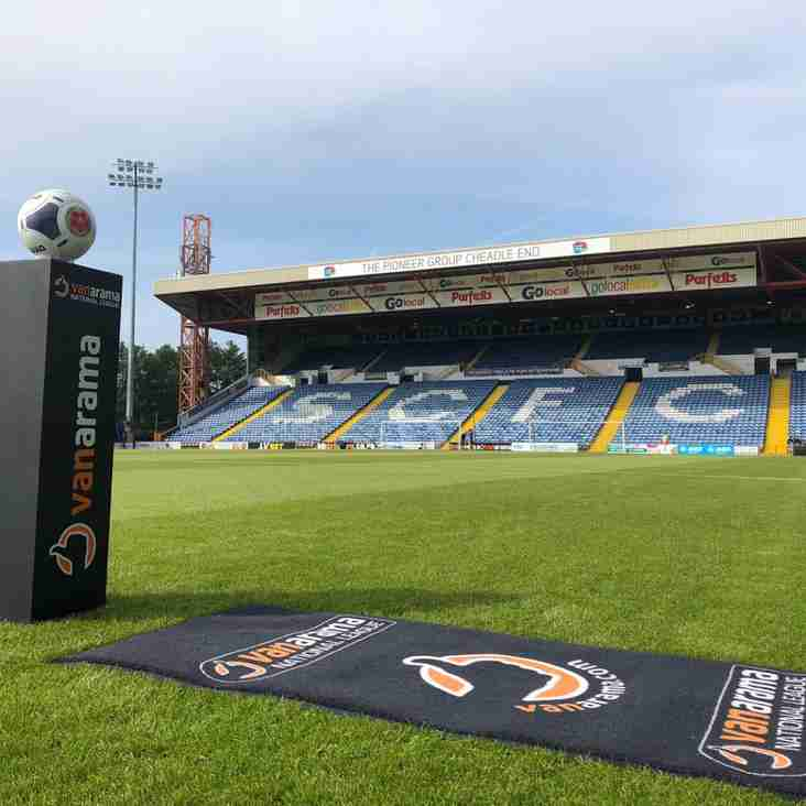 BT Cameras Roll! Pools And Hatters Meet At Edgeley Park