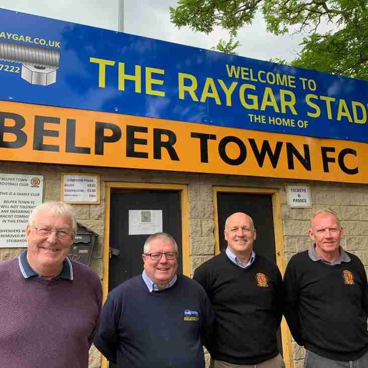 New title sponsor for Belper Town