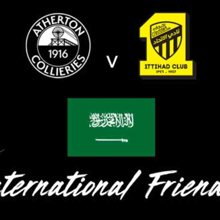 Colls to host Arabs in international friendly