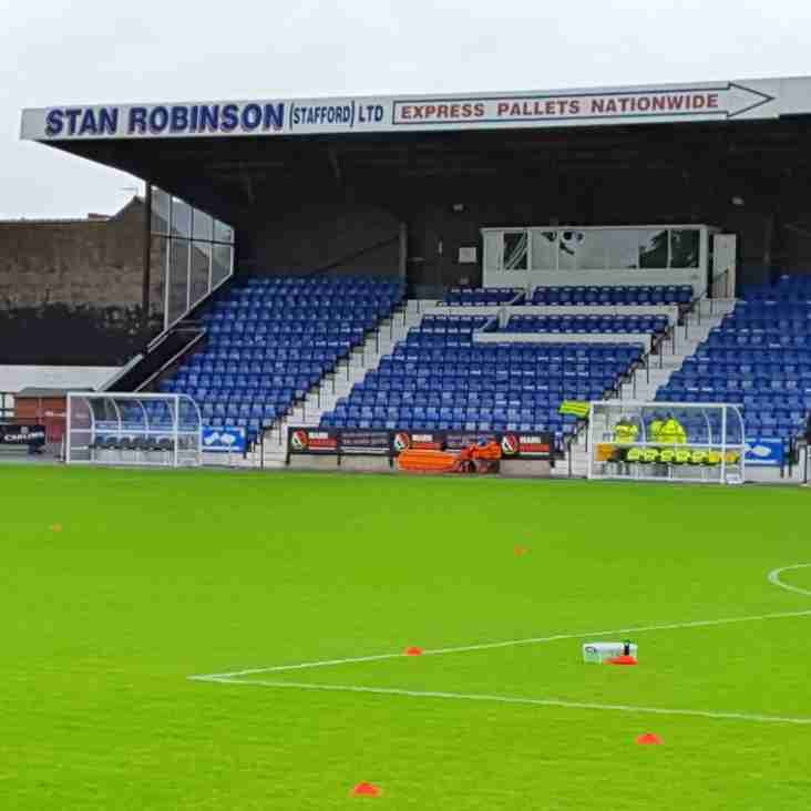 Stafford secure stadium funding