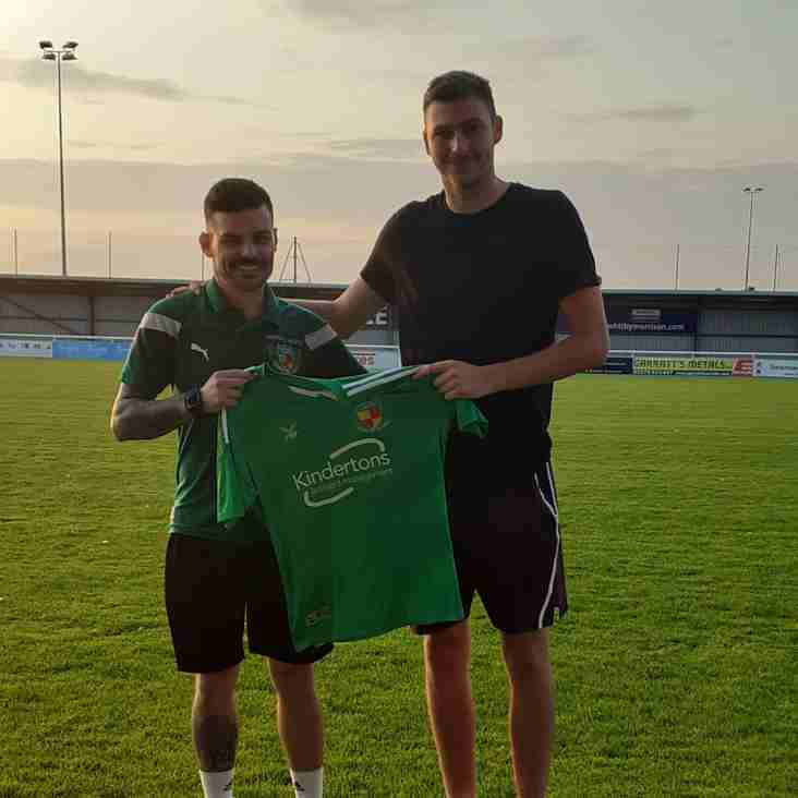Harrison re-joins Nantwich