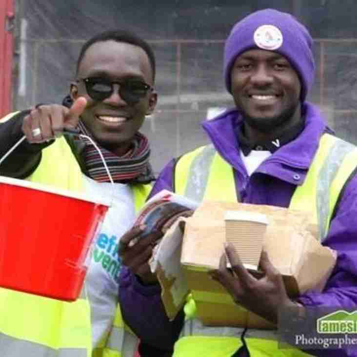 Refugees thank life-changing Ashton United