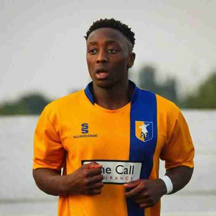 Moyo links up with Market Drayton Town