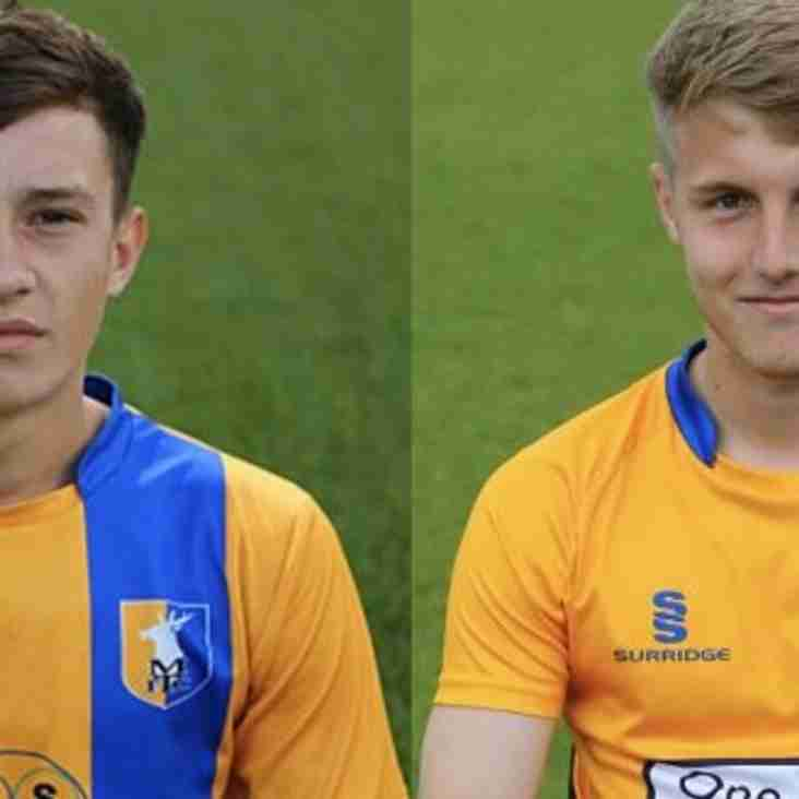 Young duo join Blues