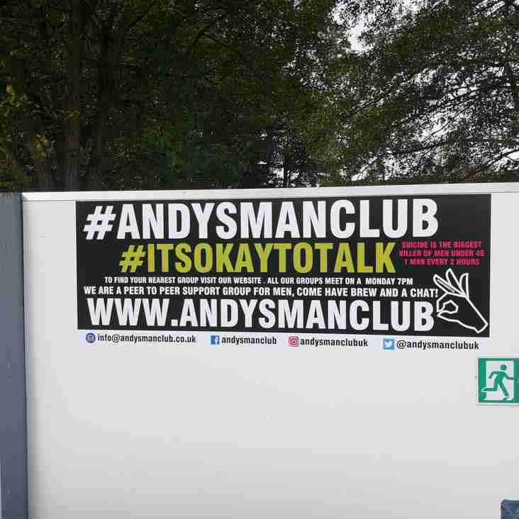 Kidsgrove show support for Andy's Man Club